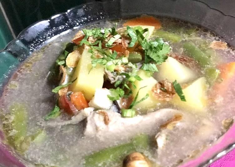 Resep Sup Ayam Kampung Yang Populer Sedap