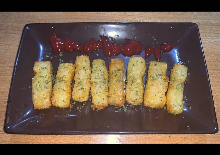 Potato Cheese Stick Kekinian (Kentang Goreng Keju)