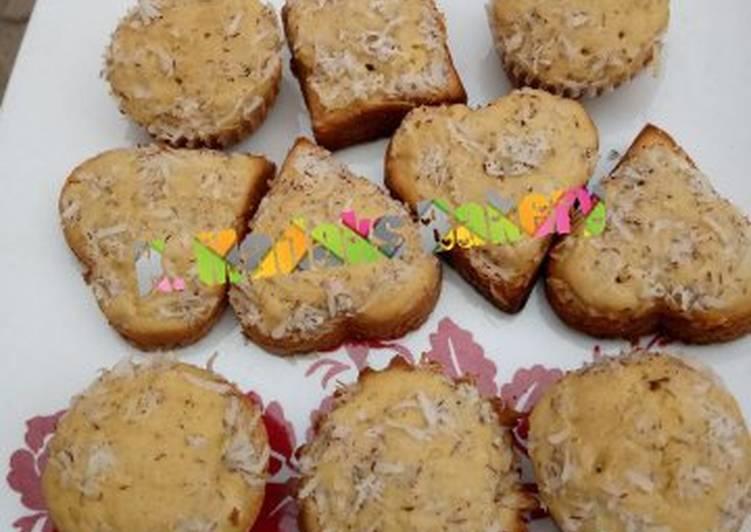 Step-by-Step Guide to Prepare Favorite Coconut peak milk cupcakes