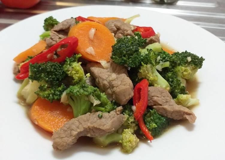 Sapi Brokoli Pasti Terealisasi