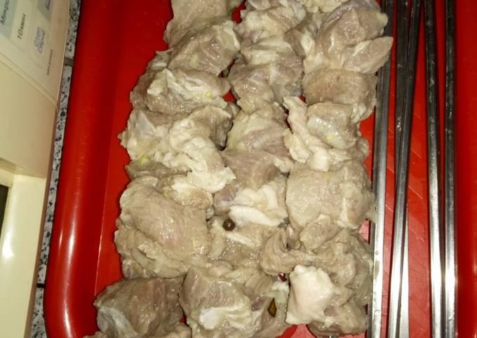 Луковый маринад для шашлыка