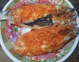 Ikan bandeng tanpa duri bakar kesukaan anakku