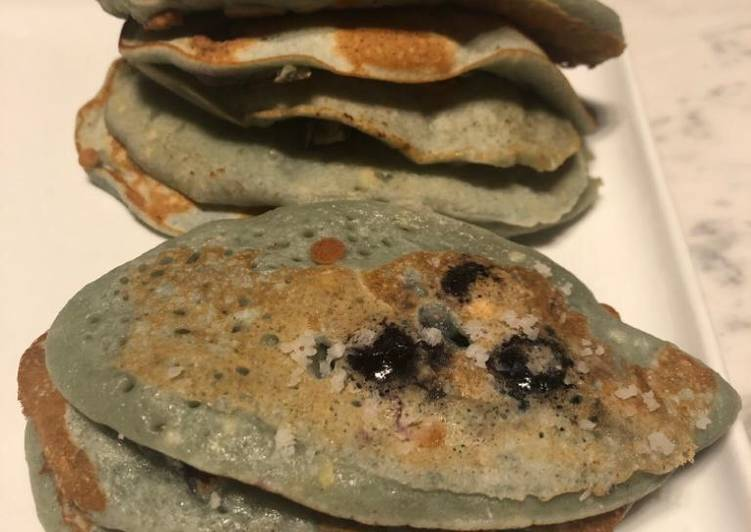 Comment faire Faire Appétissante Pancakes à la myrtille