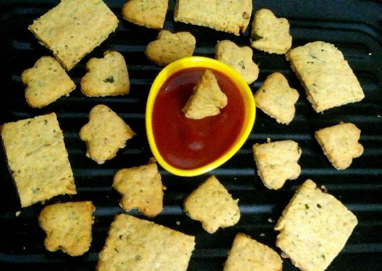 Simple Way to Prepare Favorite Oats masala khara cookies