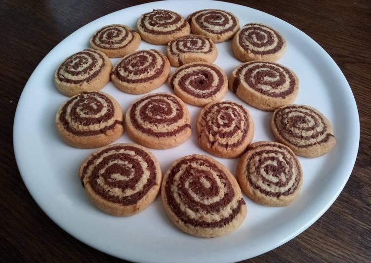 Comment Préparer Les Biscuits marbrés