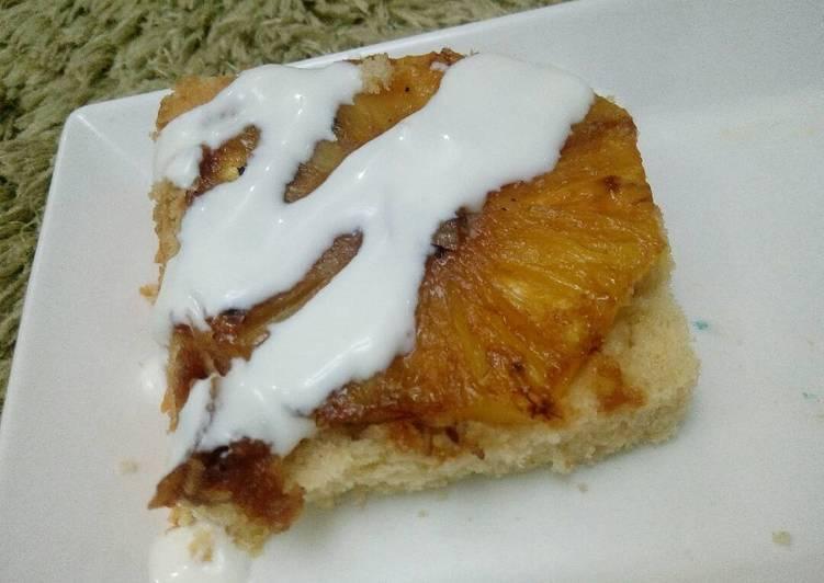 Pineapple 🍍 upside down cake