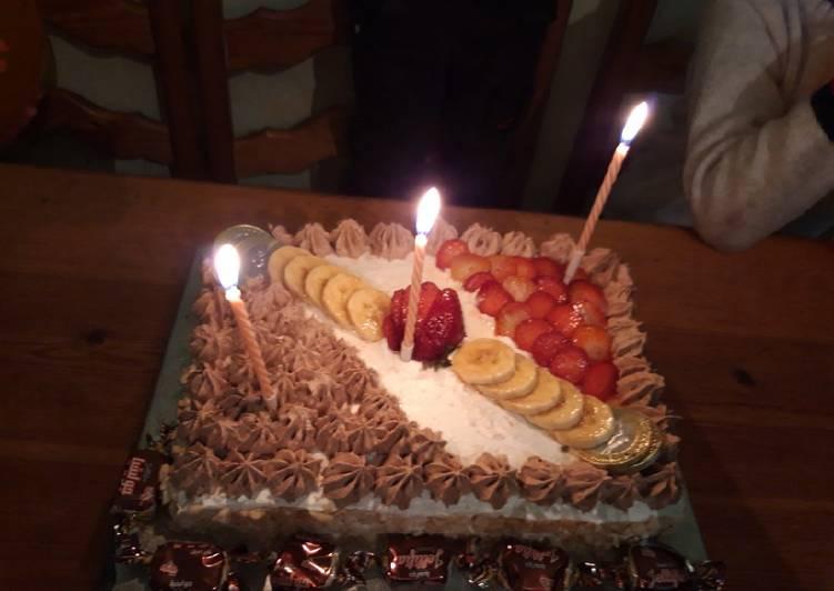 كيكة عيد ميلاد ابني بالصور من Tadjo Mizo كوكباد