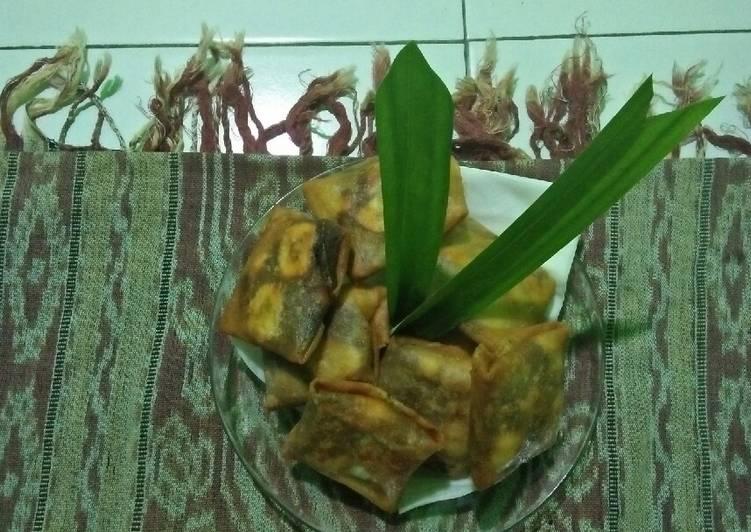 Martabak pisang coklat keju