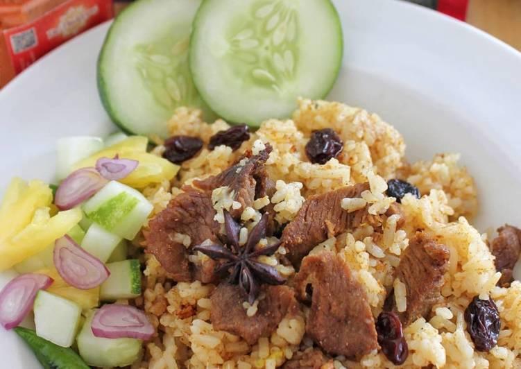 Nasi briyani rice cooker