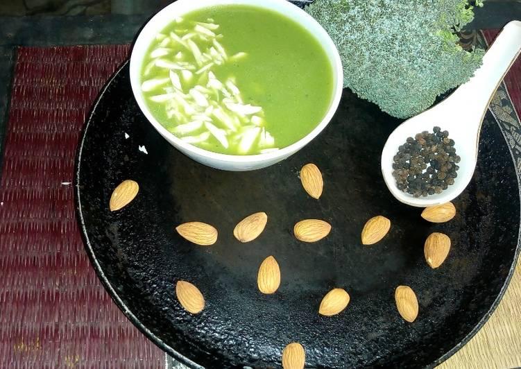 How to Make Speedy Broccoli soup