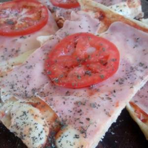 Masa de Pizza con masa saborizada