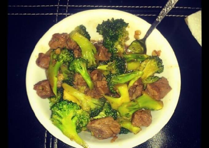 Beef& Broccoli