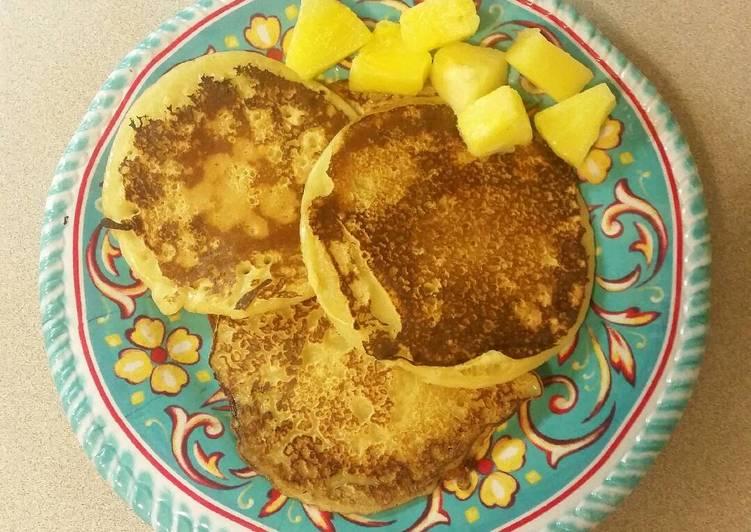 Easiest Way to Prepare Appetizing Dense Pancakes
