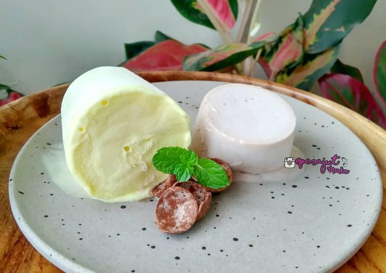 Resep Es Krim Ice Cream Homemade Lumer