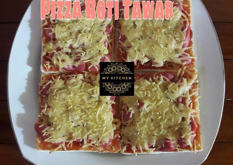 Langkah Mudah untuk Membuat Pizza Roti Tawar (Simple dan Murmer) yang Menggugah Selera