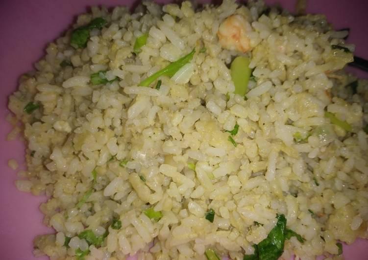 Nasi goreng udang dari KOREA versi JAWA
