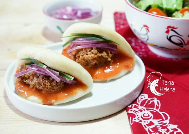 Resep Spicy Chicken Pao Sandwich Bikin Laper