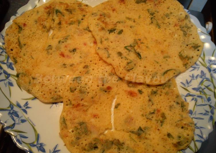 Recipe: Tasty Healthy Egg Dosa