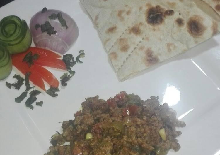 Beef khara Qeema