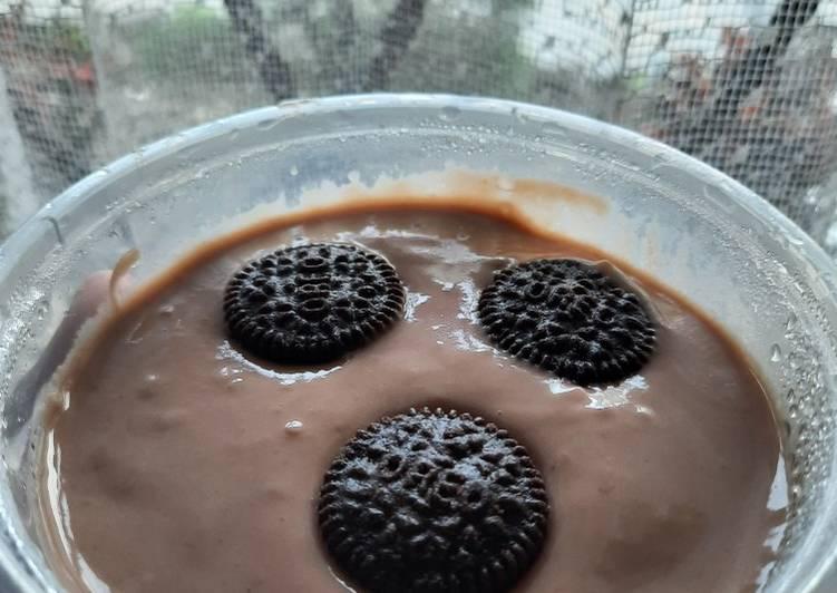 Pudding fla coklat