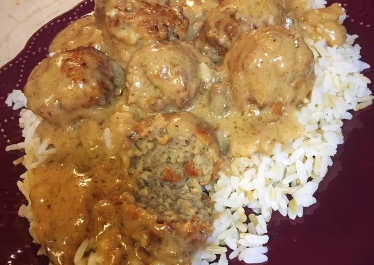 Recipe: Delicious Crazy Easy Crockpot Meatballs & Gravy 🤪