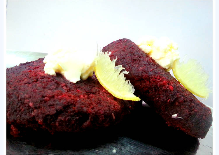 Baked Beetroot Cutlets