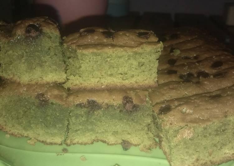 Langkah Mudah untuk Menyiapkan Bronis greentea cookpad Anti Gagal