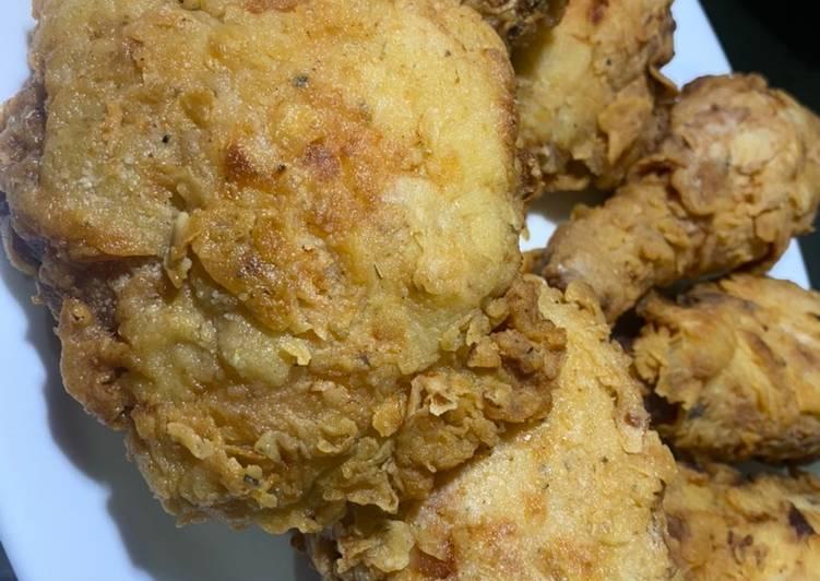 KFC ala ala / ayam goreng crispy ala KFC
