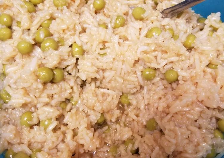 Step-by-Step Guide to Prepare Perfect Rice & Peas
