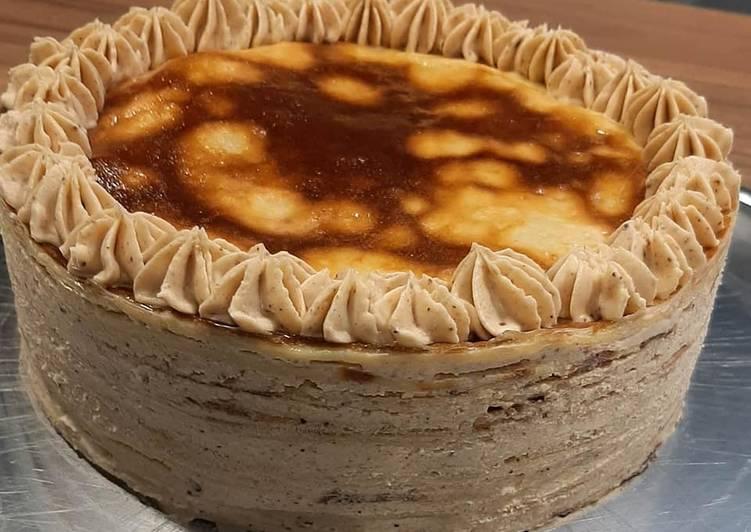 Gâteau de crêpes au praliné