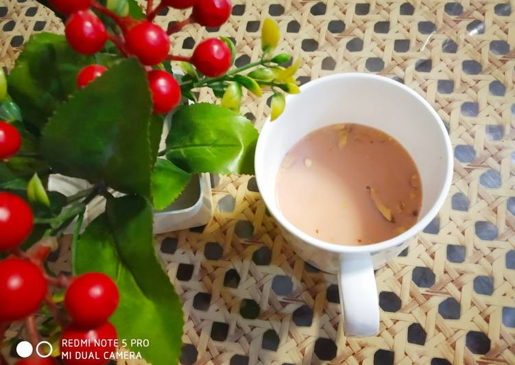 Simple Way to Prepare Any-night-of-the-week Kashmiri Chai Pink Tea