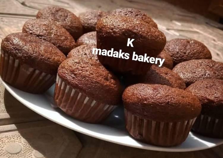 Dark forest cupcakes