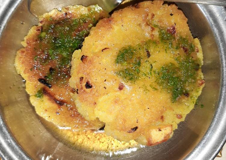 Flattened rice cutlets - Laurie G Edwards