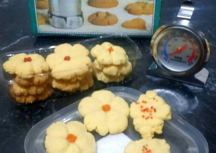 "Resep Biskuit ""Nagako"" (Cookies Tanpa Mixer) Anti Gagal"