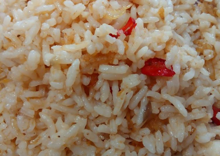 Resep Nasi Goreng sederhana pakai ebi 🦐 Paling Top