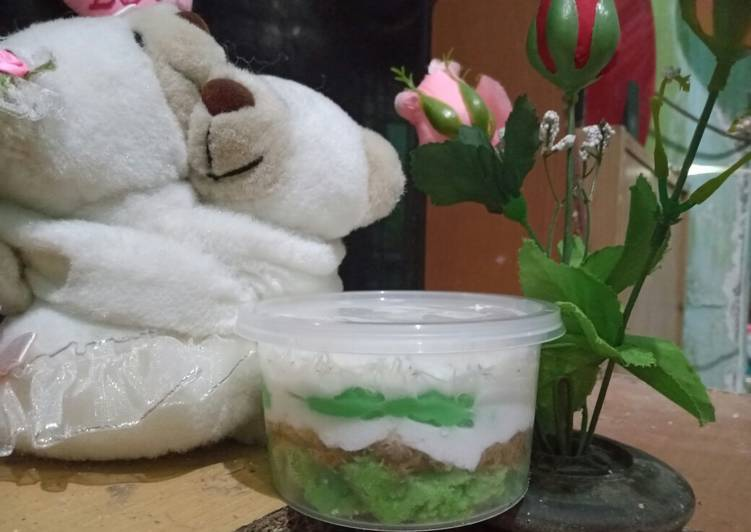 Klepon cake dessert - cookandrecipe.com