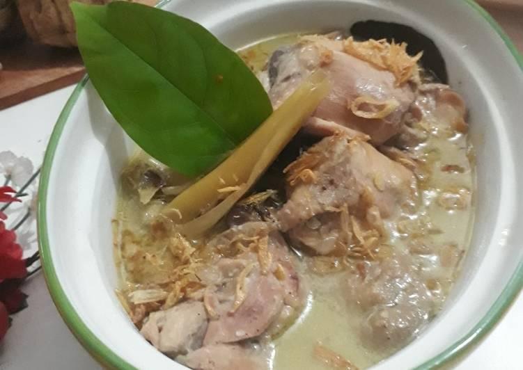 Cara Menyajikan Resep Sempurna Dari Opor Ayam ala Dapur B'Wish