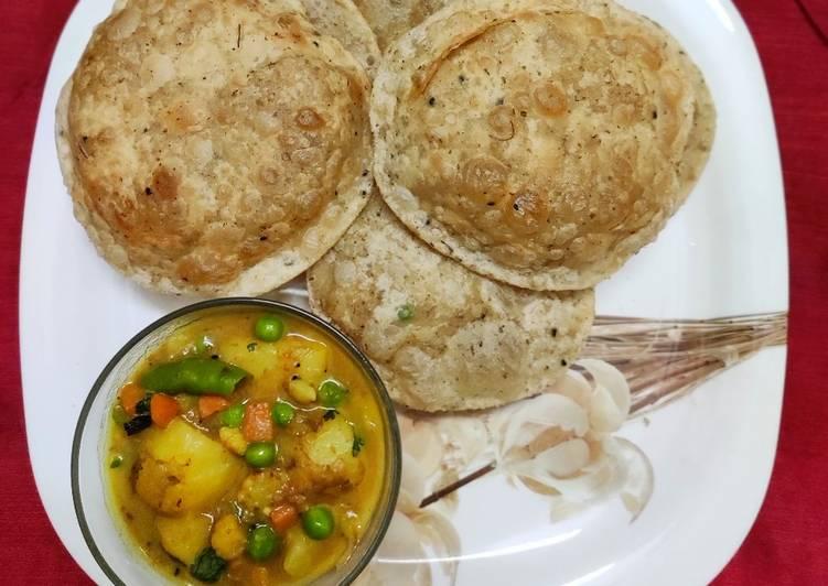 Soya Methi Puri