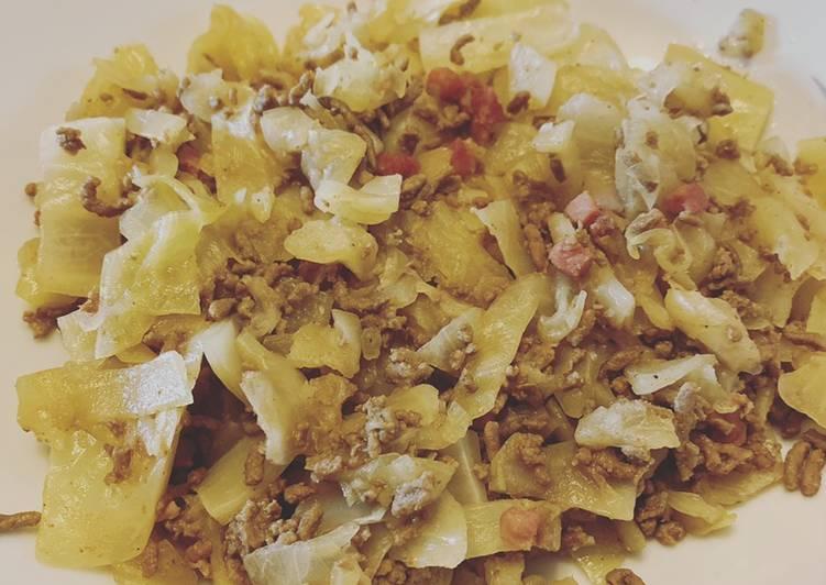 Schmor-Weißkohl-Eintopf
