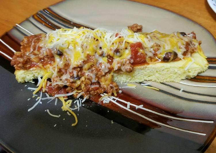 Easy Chili Cheese Corndogs