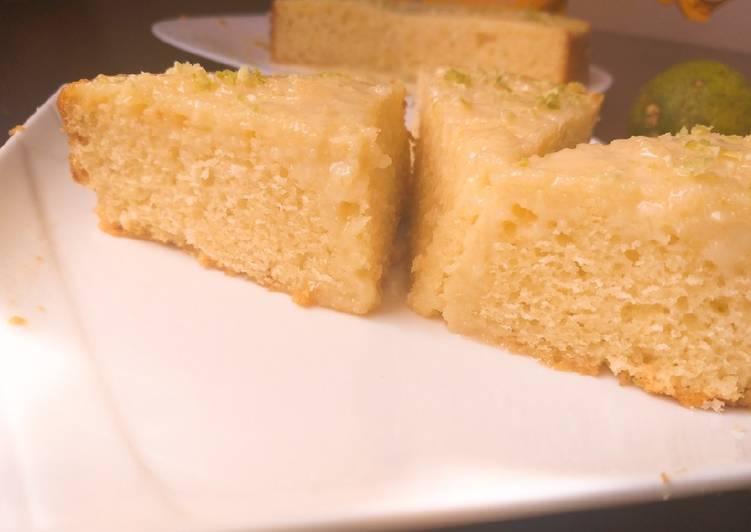 Recipe of Quick Lemon pound cake with lemon glaze