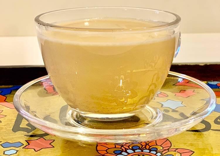 شاي وحليب بالمسالا الهندي ☕️