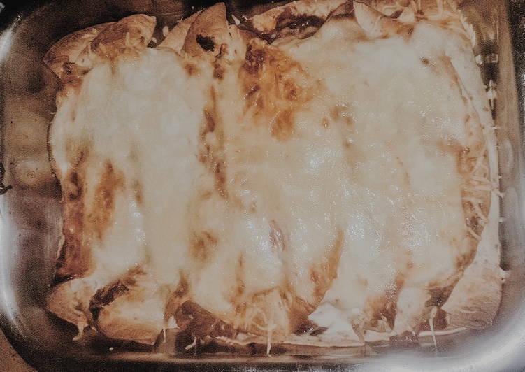 recette Enchiladas au boeuf Le plus simple