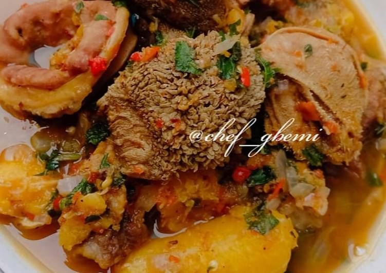 Step-by-Step Guide to Make Quick Assorted pepper soup