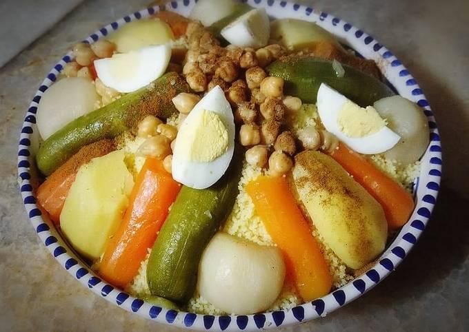 Couscous aux légumes 🍴
