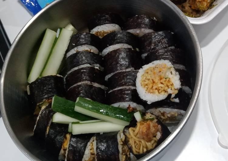 Kimbab Indomie