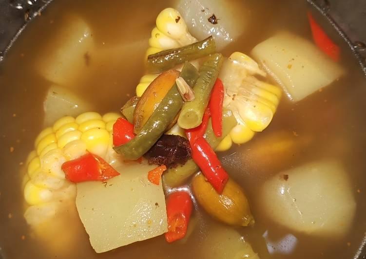 Sayur Asem bumbu racik