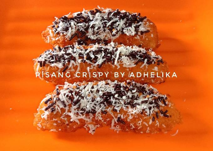 Pisang Crispy Keju Meses