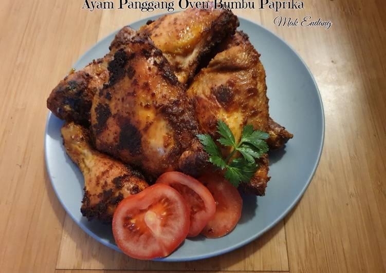 Ayam Panggang Oven Bumbu Paprika (Tanpa Ungkep non MSG) - cookandrecipe.com