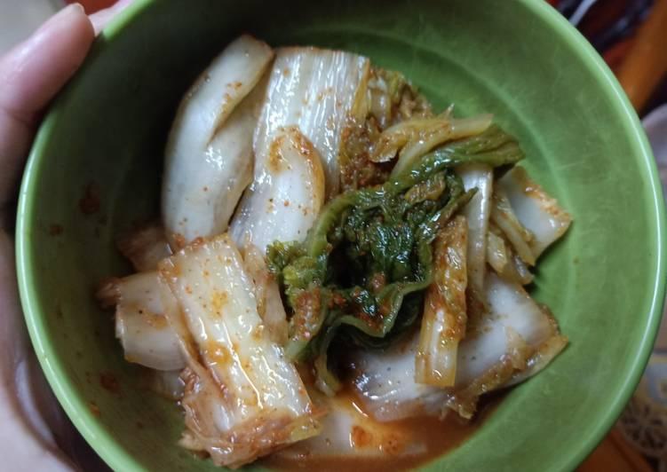 Cara Membuat Kimchi Lokal untuk pemula